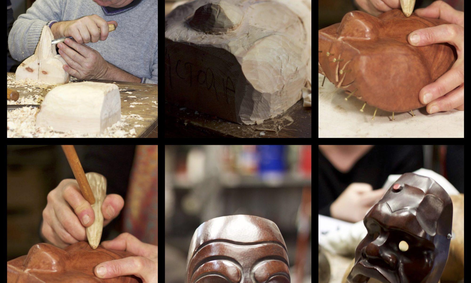À la une - Stage de fabrication de masques en cuir